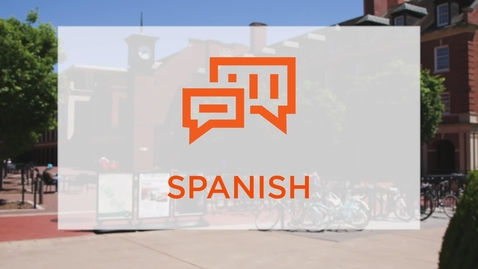 Thumbnail for entry CAS Major Profile: Spanish