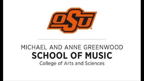 Thumbnail for entry Greenwood School of Music Senior Recital--Kassie Lindamood