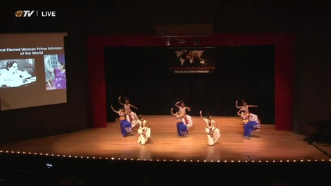Thumbnail for entry ICYMI: Sri Lankan Student Association Wins First Place In Small Group Performance At 2018 Cultural Night