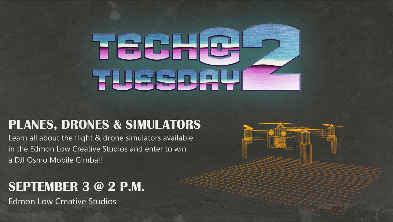 Tech Tuesday @ 2 Planes, Drones and Simulators