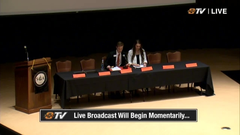 REBROADCAST: Student Government Association Joint Session