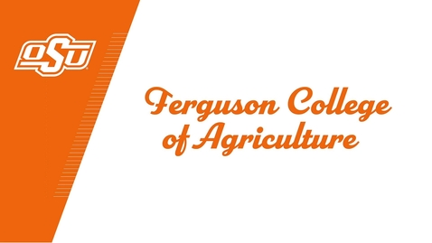 Thumbnail for entry Ferguson College of Agriculture Celebrates the Class of 2020!