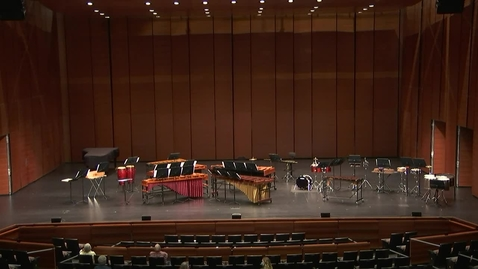 Thumbnail for entry Greenwood School of Music Percussion Ensemble Concert