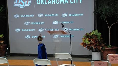 Thumbnail for entry OSU OKC 2021 Commencement Ceremonies--Applied Technology & Enterprise Development