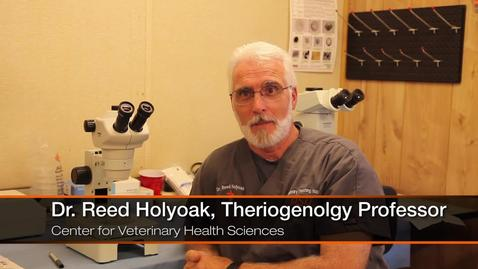 Thumbnail for entry First in His Family to Earn a College Degree: Dr. Reed Holyoak