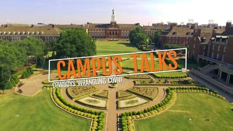 Thumbnail for entry Campus Talks - Cowboys Wrangling Covid .