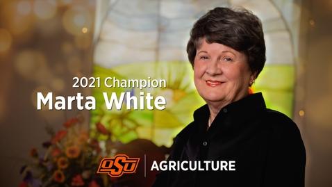 Thumbnail for entry 2021 Ag Champion: Marta White