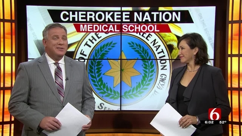 Thumbnail for entry IN THE NEWS: OSU to Partner with Cherokee Nation for Nation's First Tribal Medical School