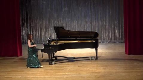 Thumbnail for entry  Greenwood School of Music Studio Recital--Martha Avrett