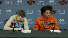 Thumbnail for entry OSU/Charleston Basketball Postgame: Dziagwa and Weathers Speak to Media
