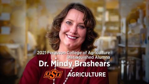 Thumbnail for entry 2021 Distinguished Alumni: Dr. Mindy Brashears