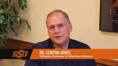 Thumbnail for entry Vet Med Faces of Research: Dr. Clinton Jones
