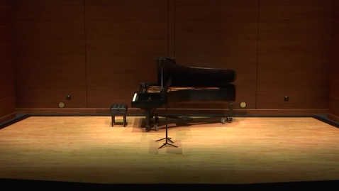 Thumbnail for entry Greenwood School of Music Senior Recital--Jacob Grice