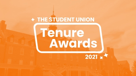 Thumbnail for entry The 2020-2021 Student Union Tenure Awards