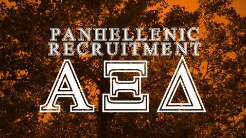 Thumbnail for entry Panhellenic House Tour: Alpha Xi Delta