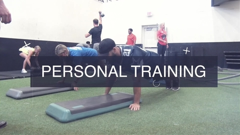 Thumbnail for entry Personal Training with the Department of Wellness