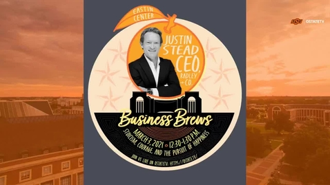 Thumbnail for entry REBROADCAST:    Business Brews--Stoicism, Courage and the Pursuit of Happiness