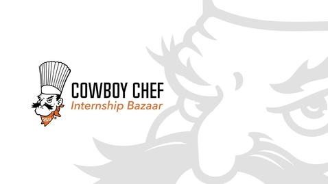 Thumbnail for entry First Cowboy Chef Internship Bazaar