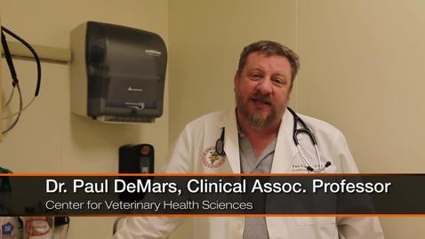 Thumbnail for entry Dr. DeMars First in his Family to earn a College Degree