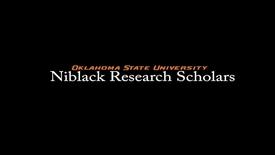 Thumbnail for entry Jeffrey Krall, 2017-18 Niblack Research Scholar