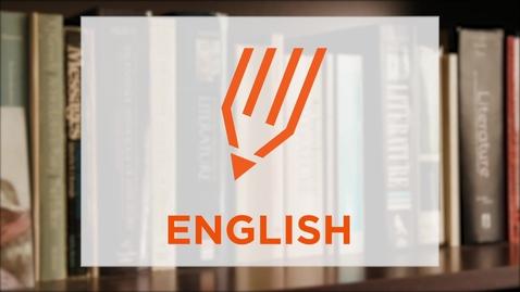 Thumbnail for entry CAS Major Profile: English