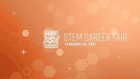 Thumbnail for entry Virtual STEM Career Fair