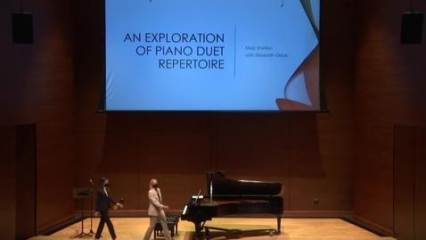 Thumbnail for entry Greenwood School of Music Graduate Recital - Marji Fint