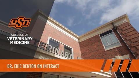 Thumbnail for entry Dr. Eric Benton on INTERACT