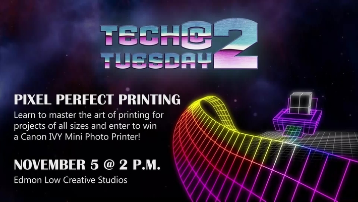 Tech Tuesday @ 2 Pixel Perfect Printing