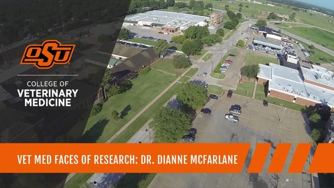 Thumbnail for entry Vet Med Faces of Research: Dr. Dianne McFarlane