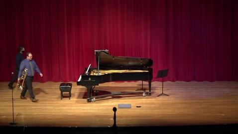 Thumbnail for entry Greenwood School of Music  Senior Recital- Jordan Davenport