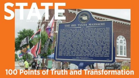 Thumbnail for entry STATE Magazine:  100 Points of Truth and Transformation