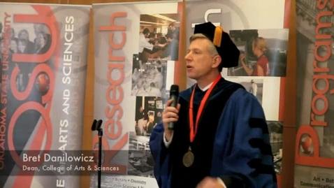 Thumbnail for entry Dean's Message to Newest A&S Alumni at Oklahoma State University
