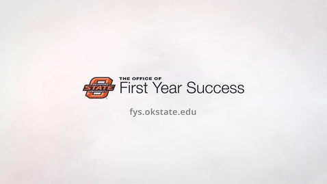 Thumbnail for entry Why You Should Join the Office of First Year Success