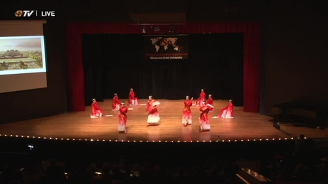 Thumbnail for entry 2018 Cultural Night - Chinese Students And Scholars Association Performance