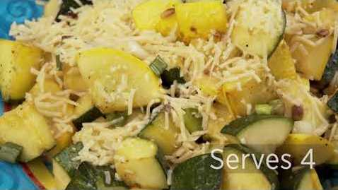 Thumbnail for entry Sautéed Summer Squash in Garlic Butter