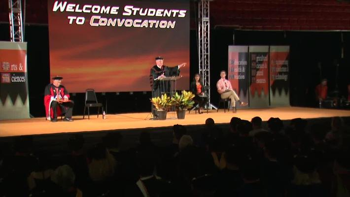 REBROADCAST: 2018 President's New Student Convocation