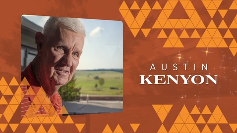 Thumbnail for entry 2019 Distinguished Alumni: Austin Kenyon