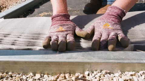Thumbnail for entry Laying Gravel in a Ground Grid