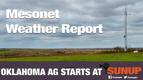 Thumbnail for entry Mesonet Weather (8/21/21)