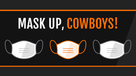 Thumbnail for entry Mask Up Cowboys!