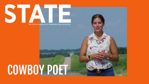 Thumbnail for entry STATE Magazine: Cowboy Poet