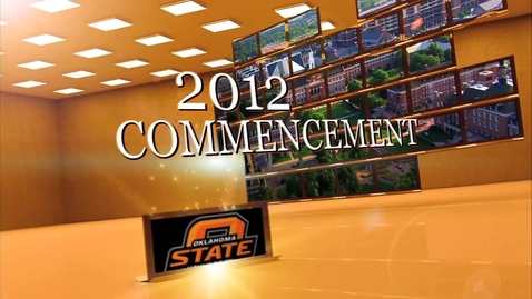 Thumbnail for entry Fall 2012 Undergraduate Commencement:  Afternoon Ceremony