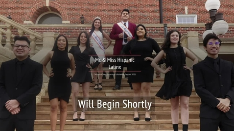 Thumbnail for entry REBROADCAST:  2021 Mr. and Miss Hispanic/Latinx OSU Scholarship Pageant