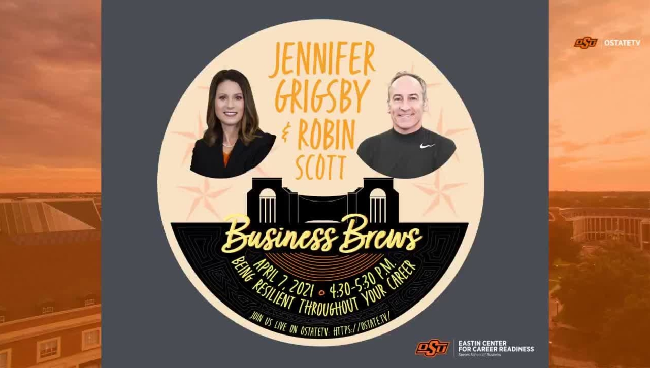 REBROADCAST:    Business Brews--Being Resilient Throughout Your Career