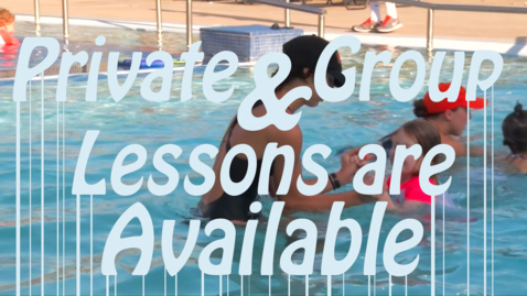 Thumbnail for entry Swim Lessons at the Colvin