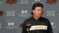 OSU/WVU Football Preview: Mike Gundy Speaks to the Media