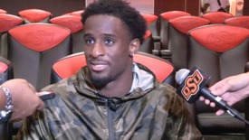 Thumbnail for entry OSU/MSU Football Postgame:  Players Speak to the Media