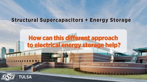 Thumbnail for entry Increasing Battery Life with Supercapacitors & Energy Storage