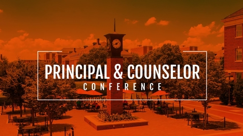 Thumbnail for entry 2019 Principal & Counselor Conference Recap